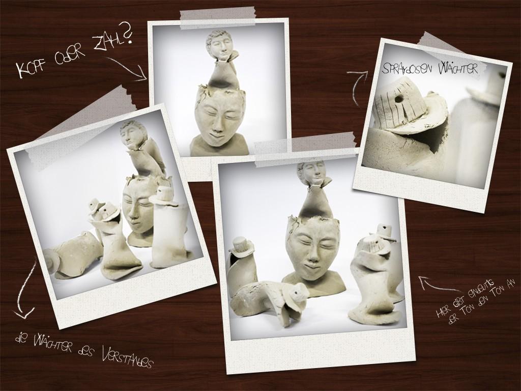tonskulpturmockup